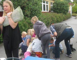 Glada ungar på Öringeskolan