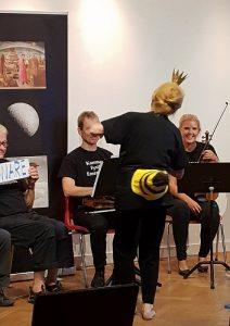KammarFysikEnsemblens sinnrika vetenskapskonsert @ Löftadalens folkhögskola